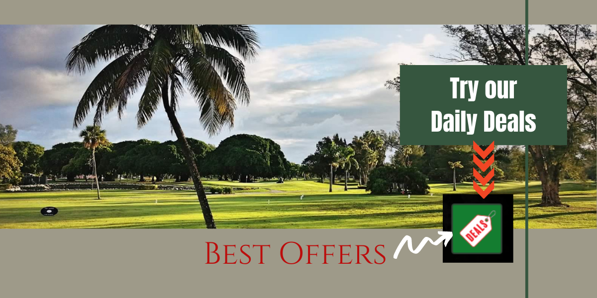 New! Daily Deals on tee times