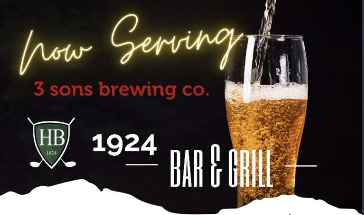 Now Serving: 3 sons brewing co.